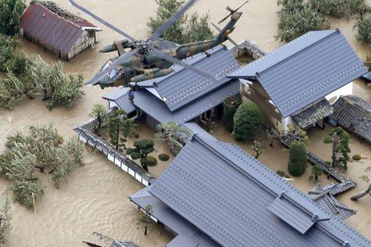 Lima pelaut China tewas akibat badai Hagibis di Jepang