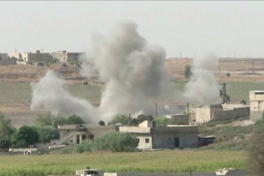 14 Orang tewas akibat serangan Turki di Kota Ras al Ain Suriah