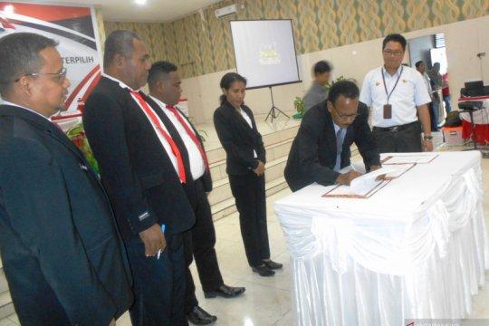 Pelantikan DPRD Kabupaten Biak Numfor ditetapkan pada 24 Oktober