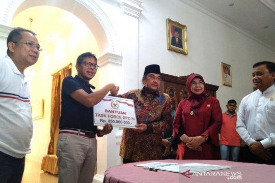 DPD RI bantu perantau Sumbar korban Wamena Rp850 juta
