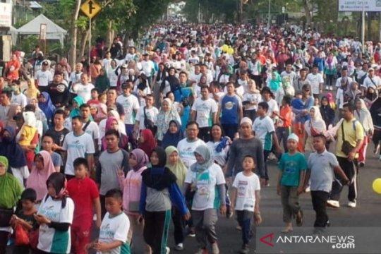 15.000 warga Pulau Bangka ikuti jalan sehat PRB
