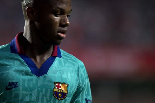 Barcelona bentengi Ansu Fati dengan kontrak jangka panjang