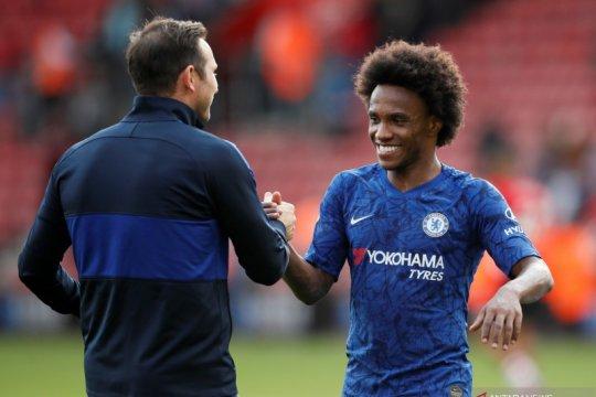 Kontrak segera habis, Willian kasih kode ke Chelsea