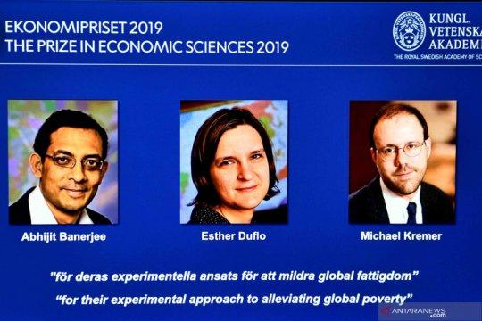 Pemenang hadiah Nobel tahun 2019 di bidang Ekonomi