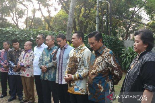 MPR: Sandiaga hadir pelantikan Presiden tegaskan saatnya bersatu