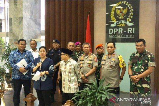 TNI-Polri sediakan 30 ribu personel jelang pelantikan