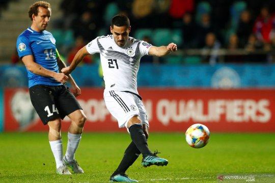 Kualifikasi Piala Eropa 2020: Sepuluh pemain Jerman bungkam Estonia 3-0