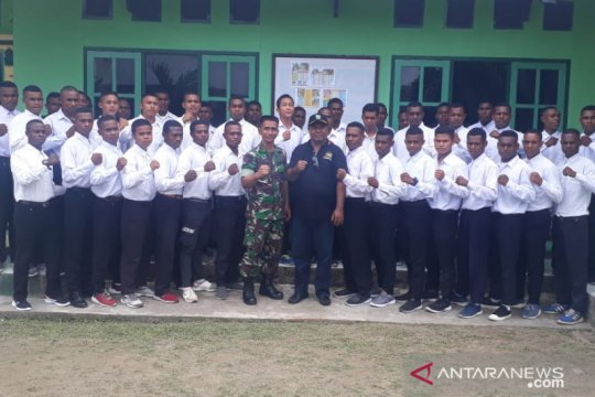 44 putra Wondama jalani seleksi TNI-AD