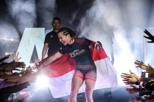 Priscilla selangkah lagi  tantang juara dunia One Championship