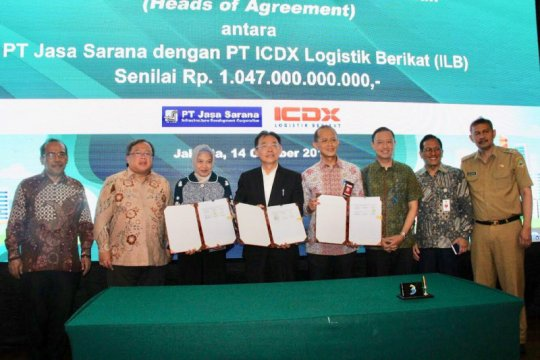 BUMD Jawa Barat dan PT ICDX kerja sama pembiayaan pengadaan barang