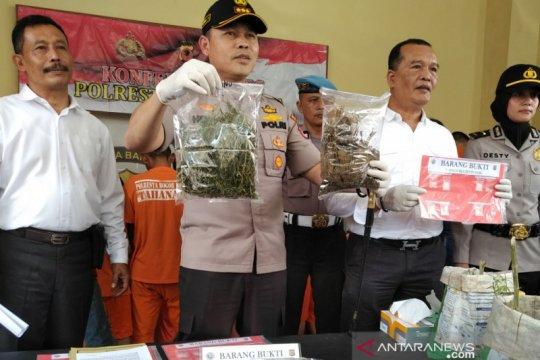 Polres Bogor Kota ungkap 17 kasus sabu dan ganja