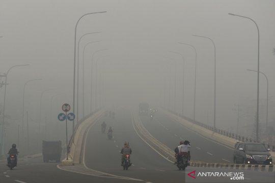 BMKG: kabut asap masih ada karena titik panas fluktuatif