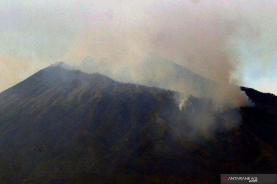 Kebakaran Gunung Arjuno mulai terkendali