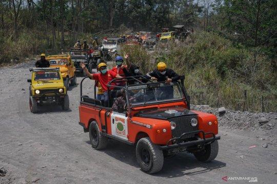 Dispar Sleman : wisata lereng Gunung Merapi masih aman dikunjungi