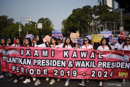 Masyarakat diharapkan tidak terprovokasi jelang pelantikan presiden