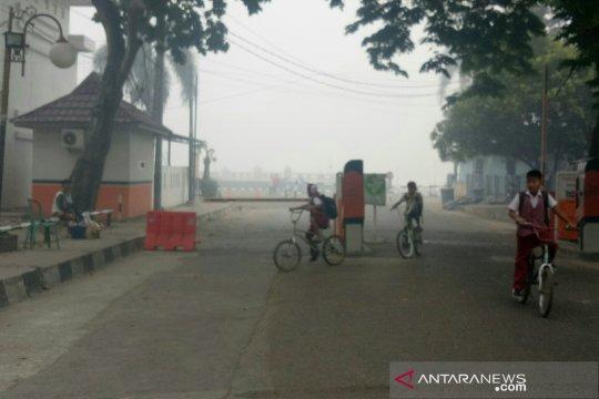 Sekolah di Palembang pulangkan siswa karena kabut asap