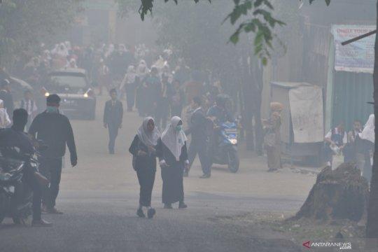 Palembang kembali liburkan sekolah tiga hari karena asap