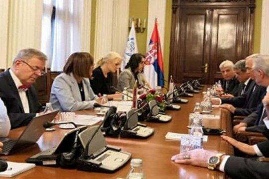 Suriah-Serbia bahas upaya tingkatkan hubungan antar-parlemen