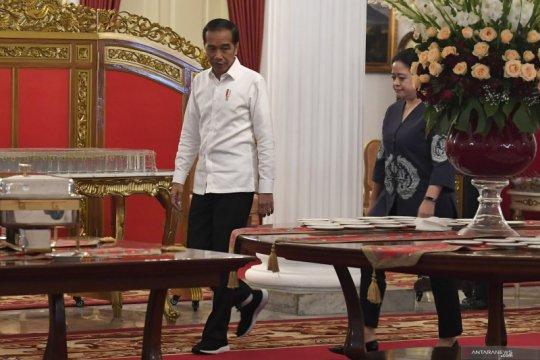 Presiden resmikan pengoperasian Palapa Ring