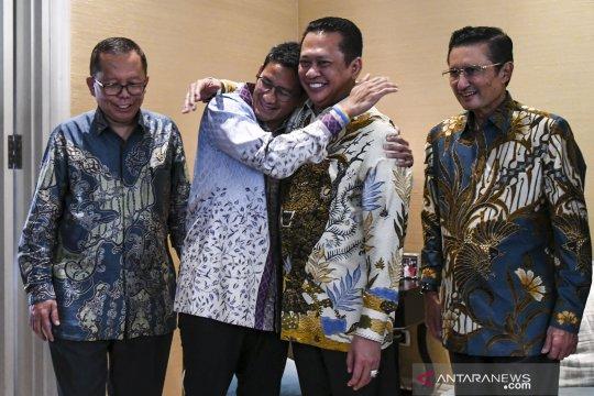 Sandiaga: Agenda MPR sesuaikan dengan milenial