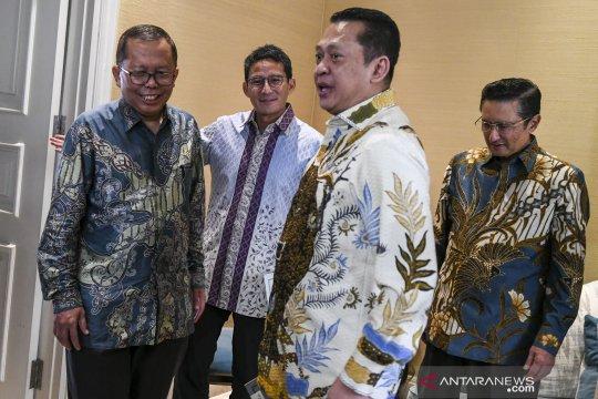 MPR berharap pelantikan presiden momen kegembiraan bersama