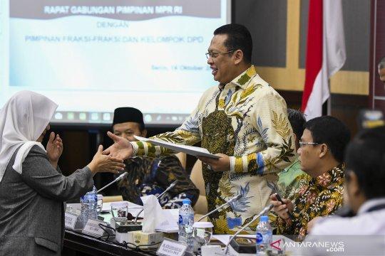 Rapat gabungan pimpinan Fraksi dengan anggota DPD
