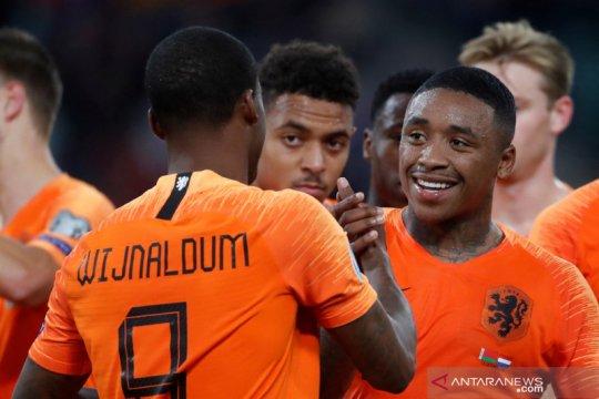 Kualifikasi Piala Eropa 2020: Wijnaldum menangkan Belanda atas Belarus 2-1
