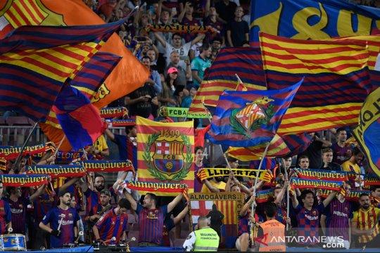 Federasi Sepak Bola Katalan skors semua pertandingan di wilayahnya