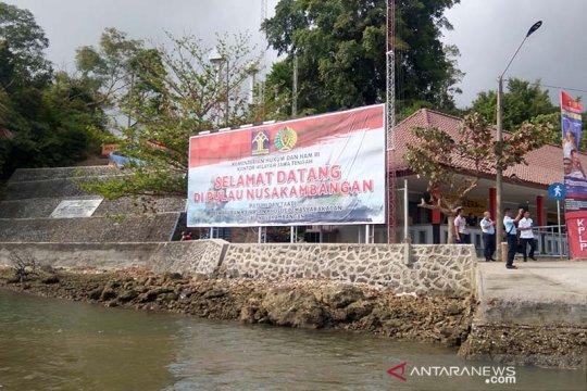 Dua napi penghuni Lapas Pulau Nusakambangan meninggal dunia