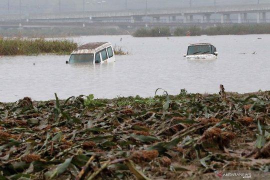 Beginilah kondisi perfektur Nagano usai topan Hagibis