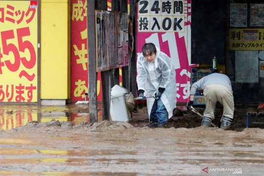 58 orang di Jepang meninggal karena Topan Hagibis