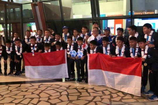 Tim Indonesia U-12 finis posisi empat Danone Nations Cup Barcelona