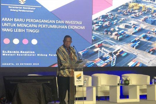 Menko Darmin sebut penerapan omnibus law tunggu disahkan Jokowi