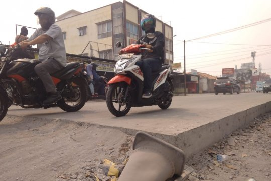 Perbaikan 228 ruas jalan  Kota Palembang capai 60 persen