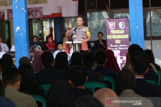 Kapolda Kalbar ajak mahasiswa jaga destinasi wisata alam