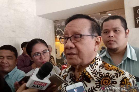 Akbar Tandjung enggan berspekulasi peluang Airlangga masuk kabinet