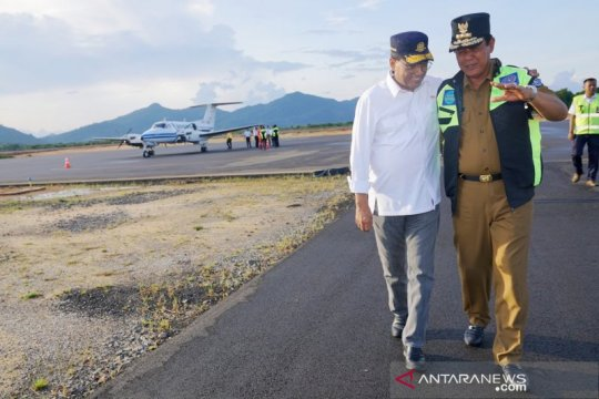 Bandara Letung resmi beroperasi, ke wisata Anambas lebih cepat