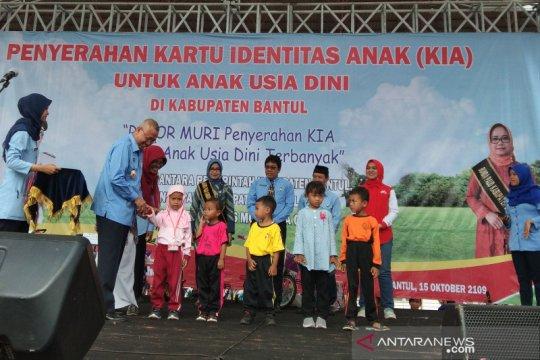 10.000 anak usia dini di Bantul dapat kartu identitas