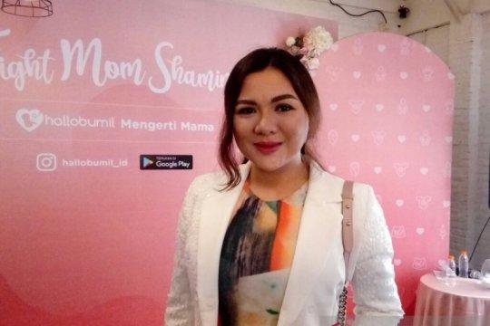Vicky Shu alami body shaming usai melahirkan