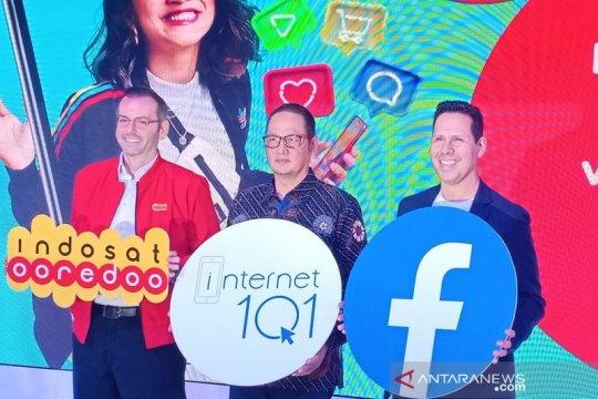 "Indosat Ooredoo-Facebook luncurkan ""Internet 1O1"""