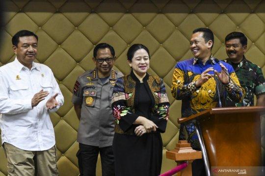 Puan imbau masyarakat saling menghormati saat pelantikan Presiden
