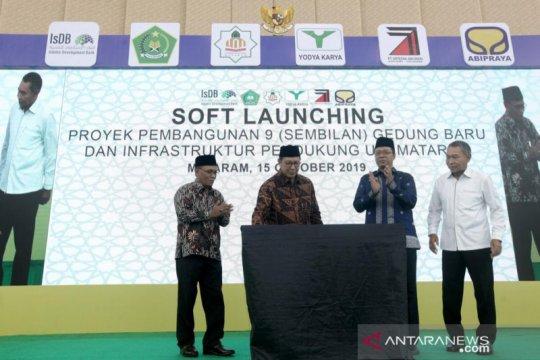 Menag resmikan kampus UIN Mataram senilai Rp300 miliar