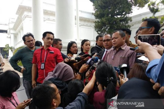 Sejumlah paguyuban masyarakat perantau di Papua temui Presiden Jokowi