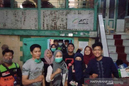 ACT Sumsel respon cepat korban kebakaran 62 rumah di Palembang