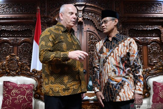 Dubes AS untuk Indonesia kunjungi PP Muhammadiyah
