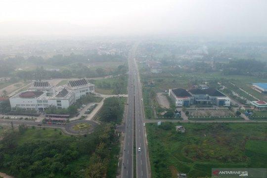 Kualitas udara di Padang kembali menurun