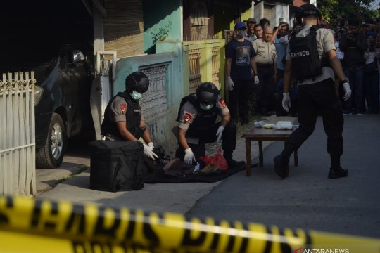 Penggeledahan rumah di Lampung terkait terorisme
