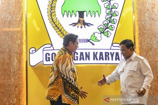 Golkar-Gerindra sepakat kerja sama perkuat stabilitas politik