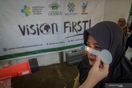 Peringatan hari penglihatan sedunia di Bandung