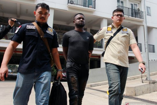 Razia keimigrasian di Tangerang